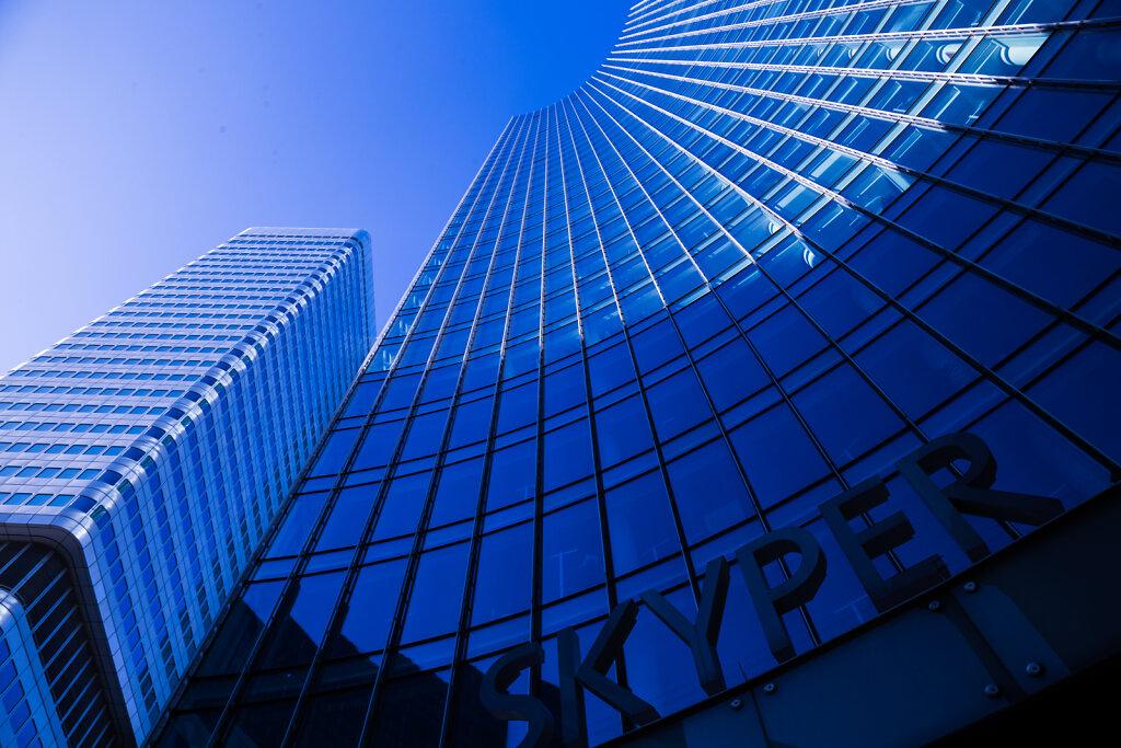 Skyper in Frankfurt